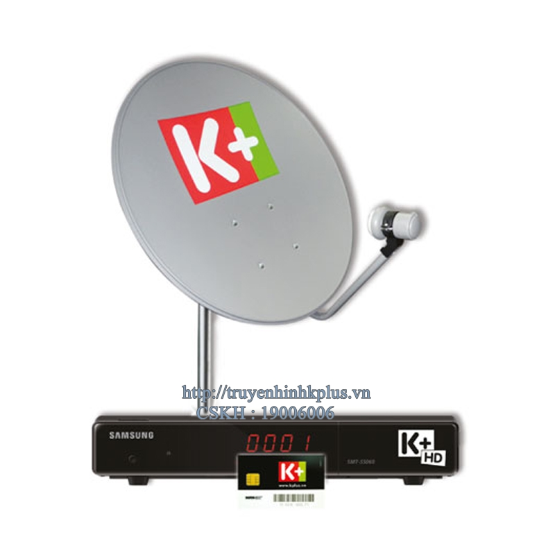 đầu thu k+ hd Samsung SMT S5060