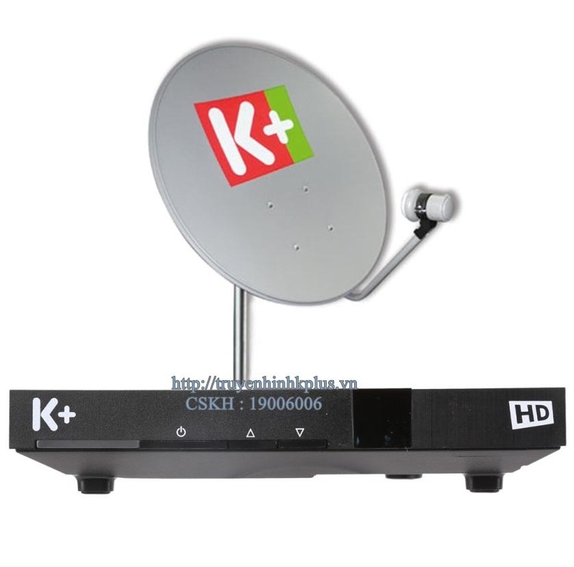Bộ đầu thu và thiết bị giải mã K+ HD DSI424VSTV
