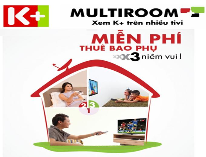 Gói kênh Multiroom