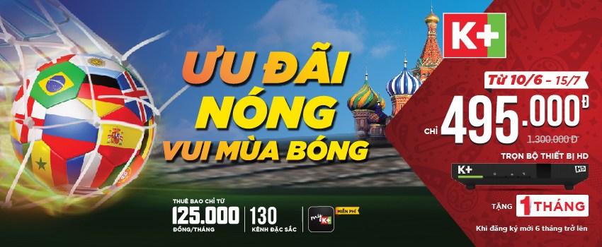 K+ Khuyễn mãi worldcup 2018