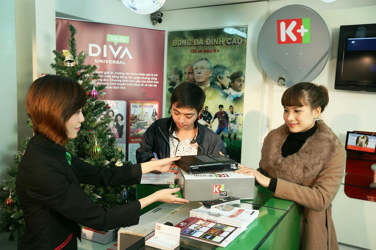 Lắp đặt Truyền hình K+ tại nhà - Dịch vụ nhanh, chuyên nghiệp