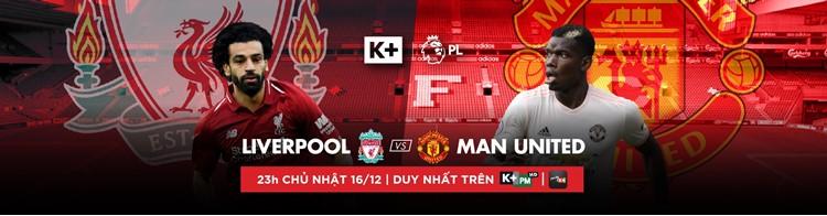 Lịch phát sóng các sự kiện thể thao tuần 51/2018 (15/12/2018 - 21/12/2018) trên các kênh K+