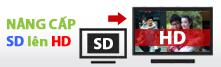 nâng cấp gói K+ SD nên HD
