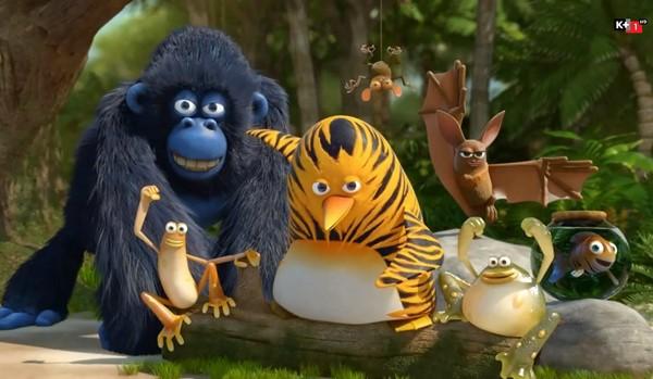 The jungle bunch – Liên minh anh hùng